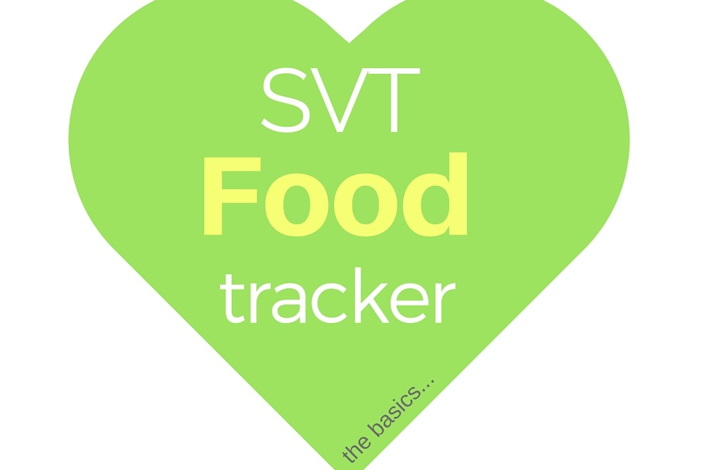 SVT Food Tracker Tool