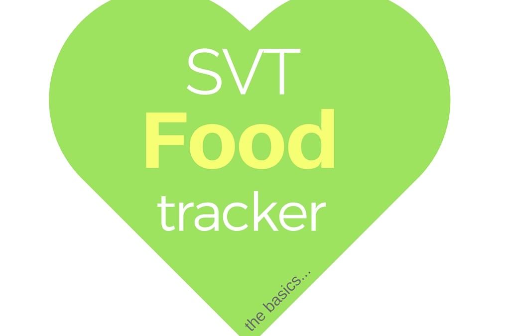 SVT Food Tracker Tool